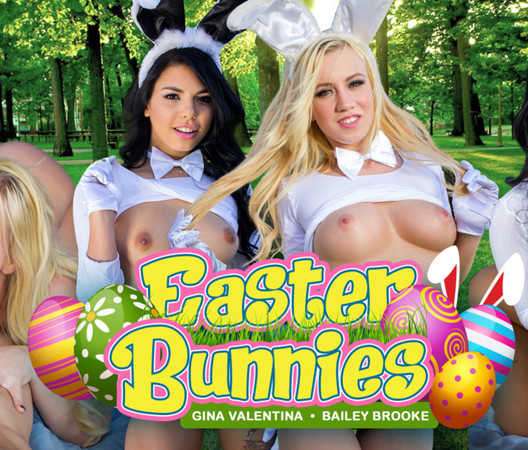 Easter Bunnies - VR Porn Easter Special