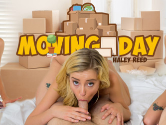 Moving Day - Haley Reed VR Porn