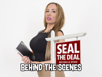 Richelle Ryan VR - Seal the Deal Behind the Scenes