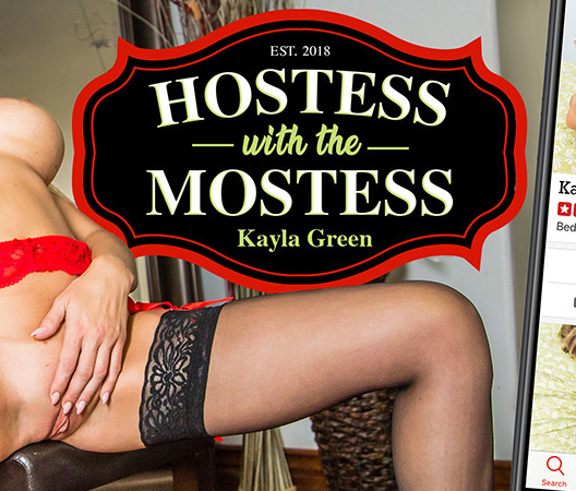 Kayla Green VR - Hostess with the Mostess