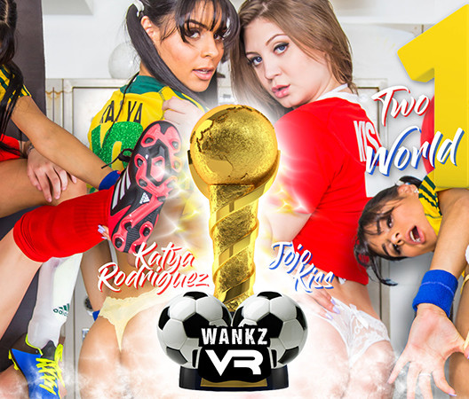 Two Girls, One World Cup - WankzVR